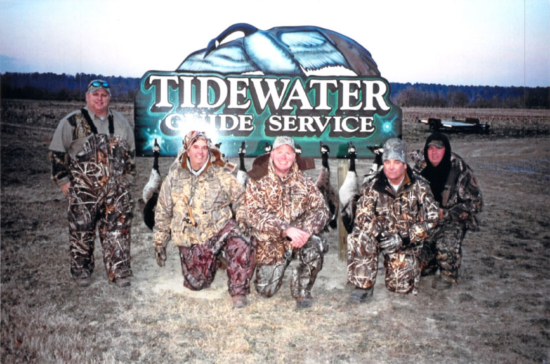 Group Hunting Waterfowl Eastern Shore Maryland