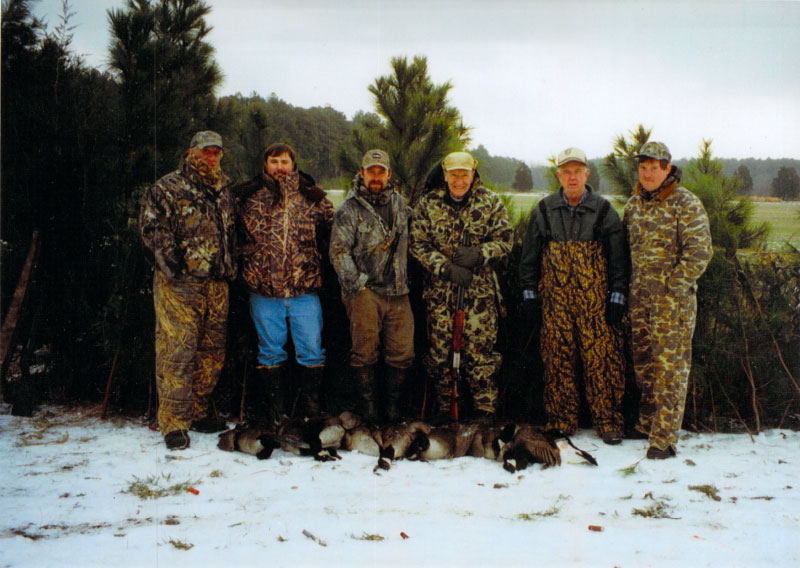 Winter Goose Hunting Tidewater Guide Hunting Service Eastern Shore